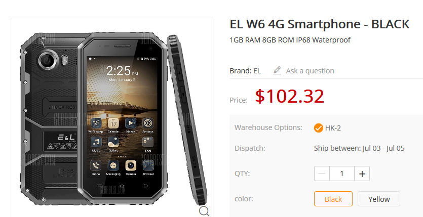 Screenshot_2018-06-28 EL W6 4G Smartphone - $102 32 Free Shipping GearBest com.png